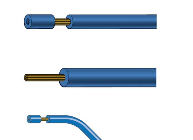 Виды зачистки проводов