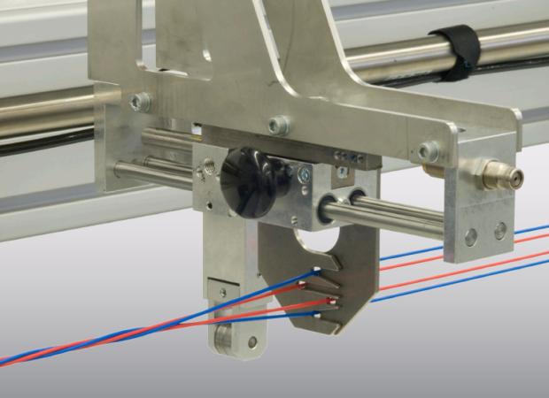 Komax bt 188 T - Станок для скрутки проводов: процесс работы