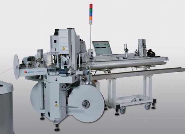 Komax Gamma 263 S - автоматическая линия для обработки проводов