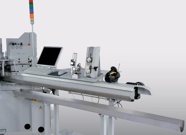 Komax Gamma 263 S - автоматическая линия для обработки проводов: компьютизированная настройка