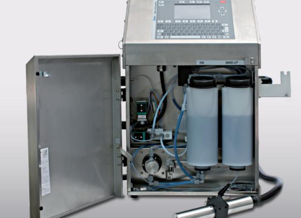 Komax IMS 295 BC (Black Color) – Принтер для каплеструйной маркировки черными чернилами: внутреннее устройство