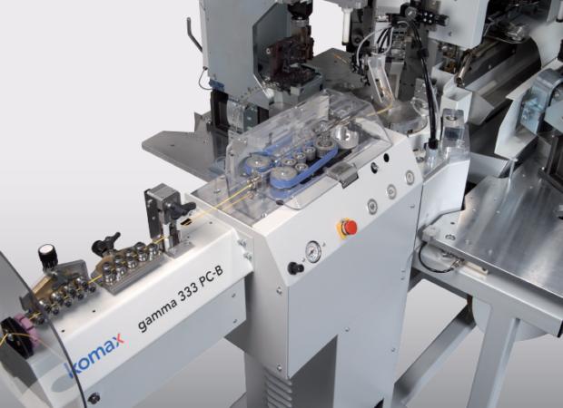 Komax Gamma 333 PC – станок для автоматической обработки провода: обработка провода