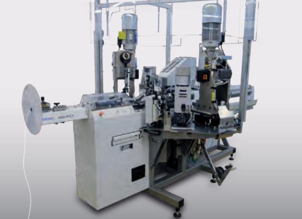 Komax Alpha 433 H – станок для комплексной обработки проводов больших сечений: общий вид