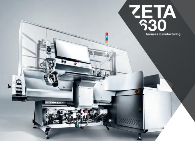 Komax Zeta 630 - экономичная автоматизация электромонтажа шкафов управления