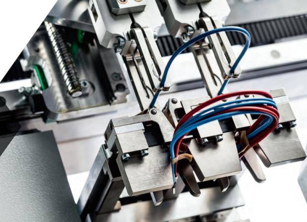 Komax Zeta 630 - экономичная автоматизация электромонтажа шкафов управления: процесс работы