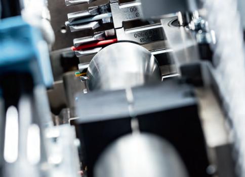 Komax Zeta 630 - автоматизация электромонтажа шкафов управления: рабочий механизм
