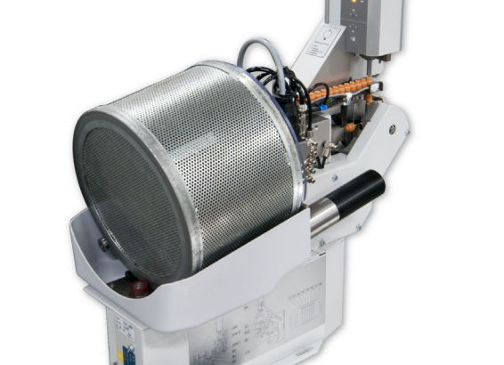 Komax mci 765C – модуль надевания резинового уплотнителя на провод: фото деталей