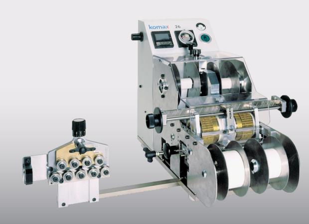 Komax 26 – Принтер для маркировки термотиснением