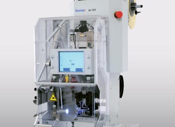 Komax mci 712/722 - модули для опрессовки: рабочая деталь