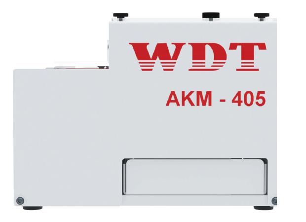 Wezag WDT AKM 405 - Пневматический станок для снятия изоляции: вид сбоку