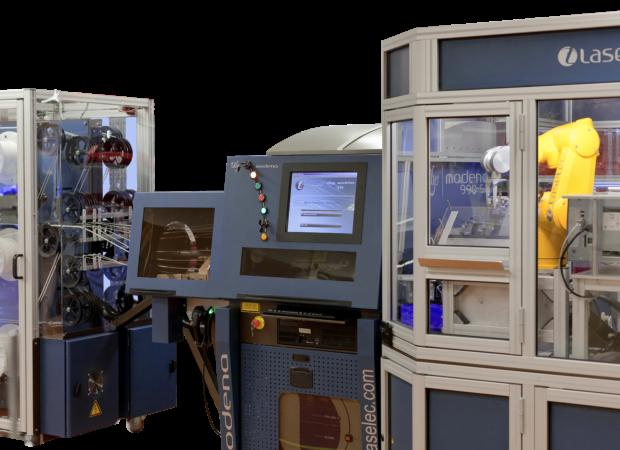 Laselec Rapidshare - автоматизированная обработка проводов и кабелей с лазерной маркировкой: общий вид