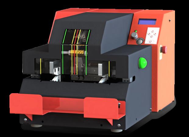 Mecalbi STCS-RCM - станок на основе инфракрасных резисторов для обработки термоусадочных трубок