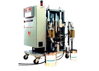 УСТАНОВКА POWERSPRAY 2051/4051 - приготовления смесей в промышленных объемах