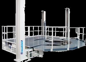 Вспомогательное оборудование для трансформаторных производств: рабочие площадки