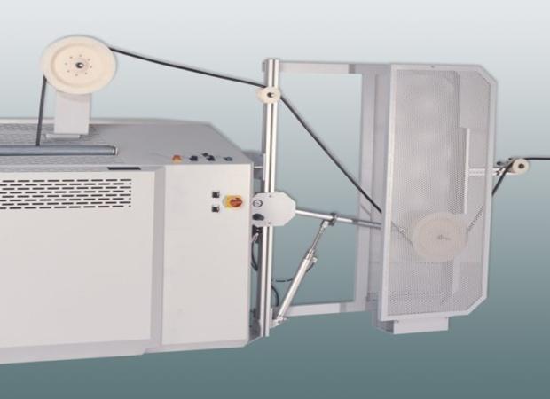 Komax ads 123 – Размотчик провода с катушек: фото деталей крупный план