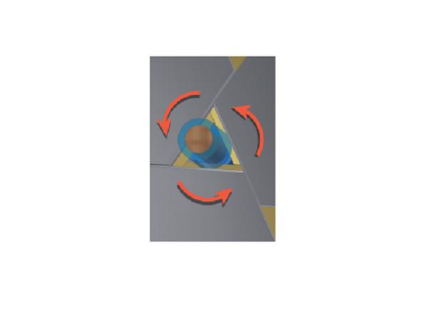Komax Cosmic 42R – Станок для зачистки микро-коаксиальных кабелей: схема