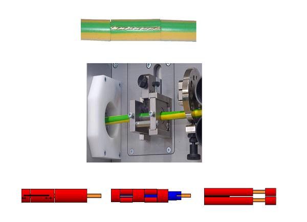 Нарезка провода на станке Komax Kappa 330
