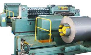 Продольный раскрой трансформаторной стали