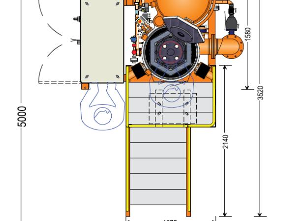 Вакуумная печь для отжига магнитопровода: схема деталей