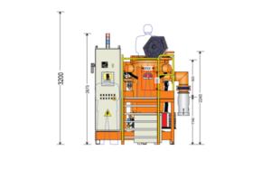 Оборудование для отжига магнитопровода