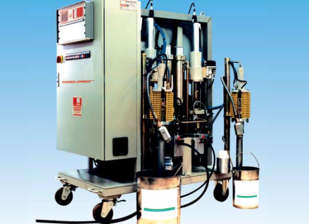 УСТАНОВКА POWERSPRAY 2051/4051 - приготовления смесей в промышленных объемах: фото 2