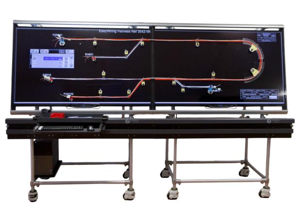 Laselec EasyWiring - Цифровой стол для мониторинга производства в реальном времени: общий вид
