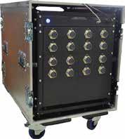 Мобильное исполнение тестера с коммутационной панелью на соединителях типа СНЦ144