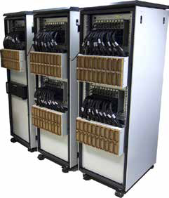 Стационарное исполнение тестера с коммутационной панелью на соединителях 6Р100