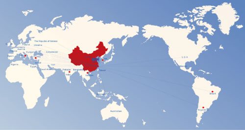 Агентский офис в 9 странах