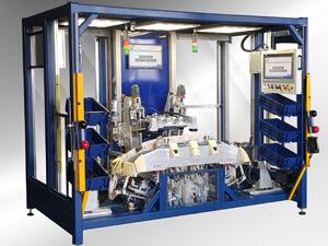 Автоматическое и полуавтоматическое оборудование сварки авто компонентов