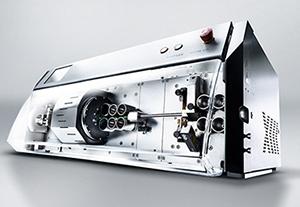 Komax Kappa 331 — Cтанок для мерной резки и зачистки проводов с ротационным ножевым блоком