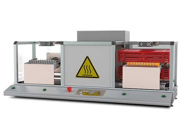 Mecalbi STCS-CS19 - станок на основе инфракрасных резисторов для обработки термоусадочных трубок