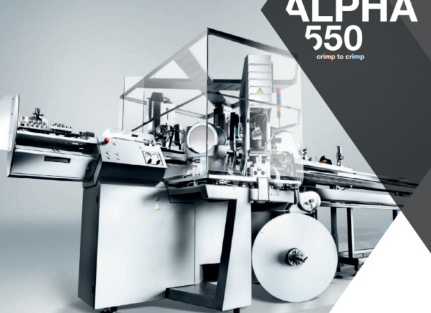 Komax Alpha 550 - автоматическая линия для двухсторонней опрессовки и установки уплотнителя