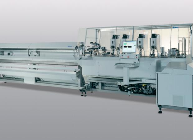 Станок для комплексной обработки проводов с установкой провода в соединитель с одной стороны Komax Zeta 651 общий план