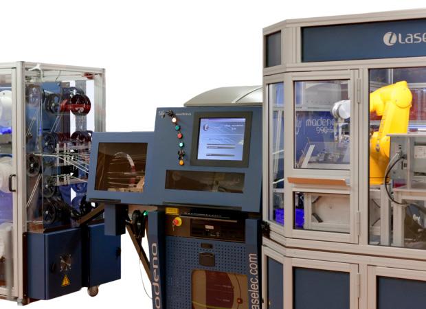 Laselec Rapidshare - автоматизированная обработка проводов и кабелей с лазерной маркировкой: панель управления фото 2