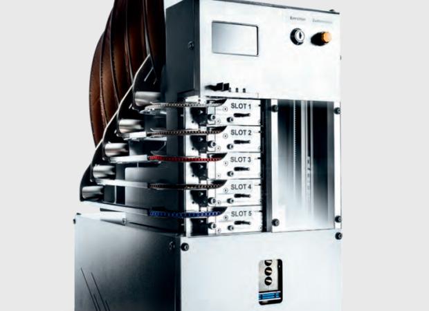 Komax Zeta 630 - автоматизация электромонтажа шкафов управления: общий вид
